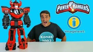 Imaginext Power Rangers Morphin Megazord ! || Toy Review || Konas2002