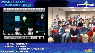 Gimmick! (NES) SPEED RUN in 11:44 by cyghfer (Awesome Games Done Quick 2013) AGDQ