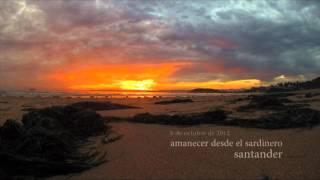 Amanecer desde El Sardinero