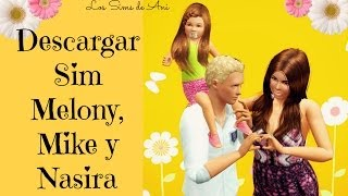 Video Descargar Sims Melony, Mike y Nasira - Los Sims 3 download MP3, 3GP, MP4, WEBM, AVI, FLV September 2018
