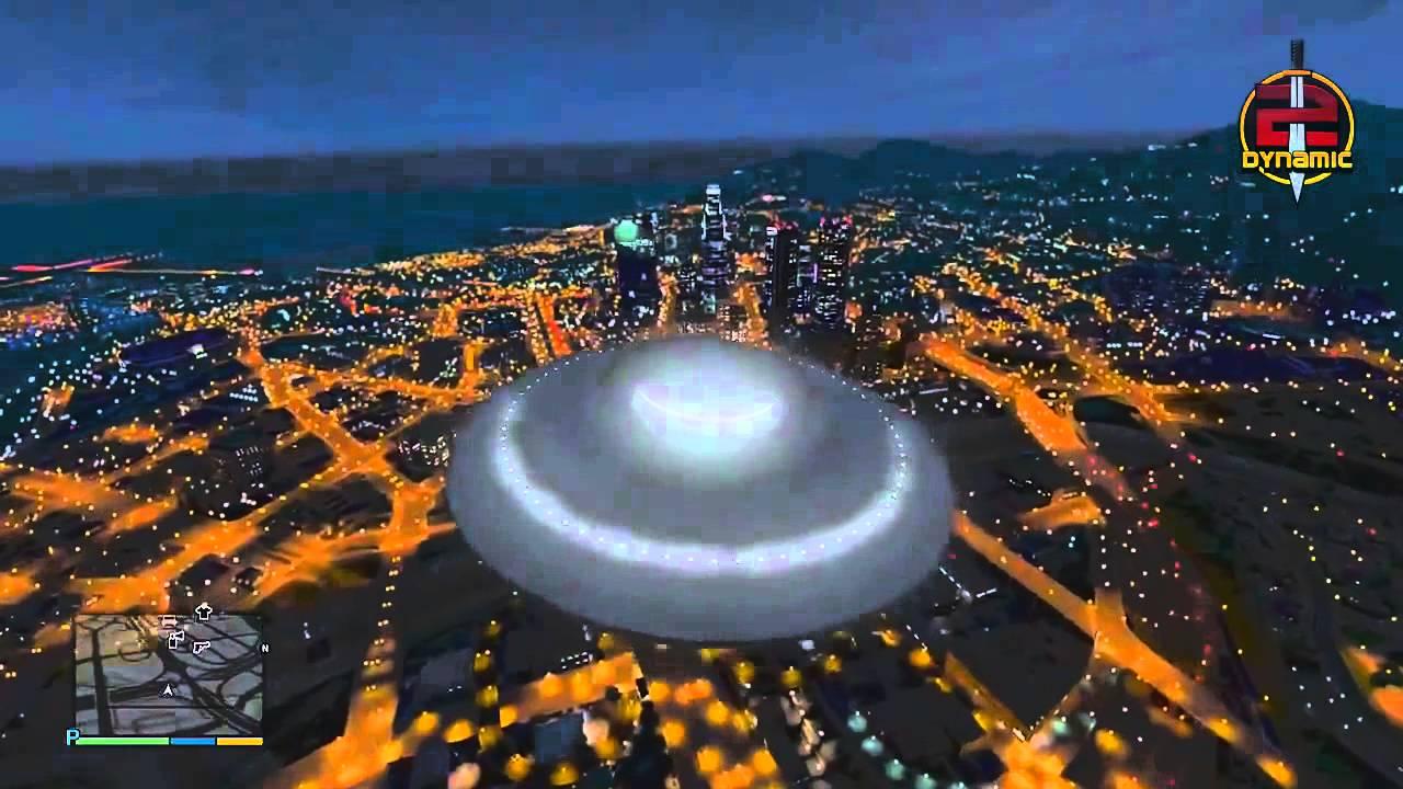 Gta 5 Alien Spaceship - 0425