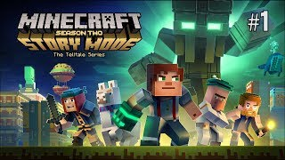 Twitch Livestream | Minecraft: Story Mode - Season Two Ep.1 Hero in Residence [Xbox One]