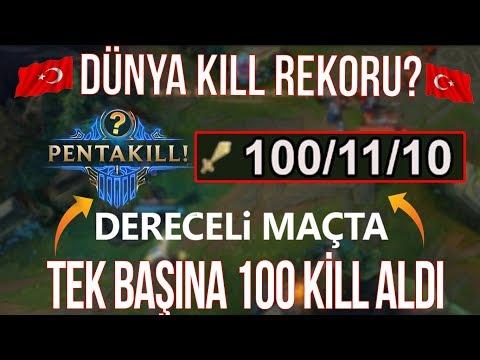 DERECELİDE 100 KILL ALIP DÜNYA KILL REKORUNU KIRAN ÇILGIN TÜRK!