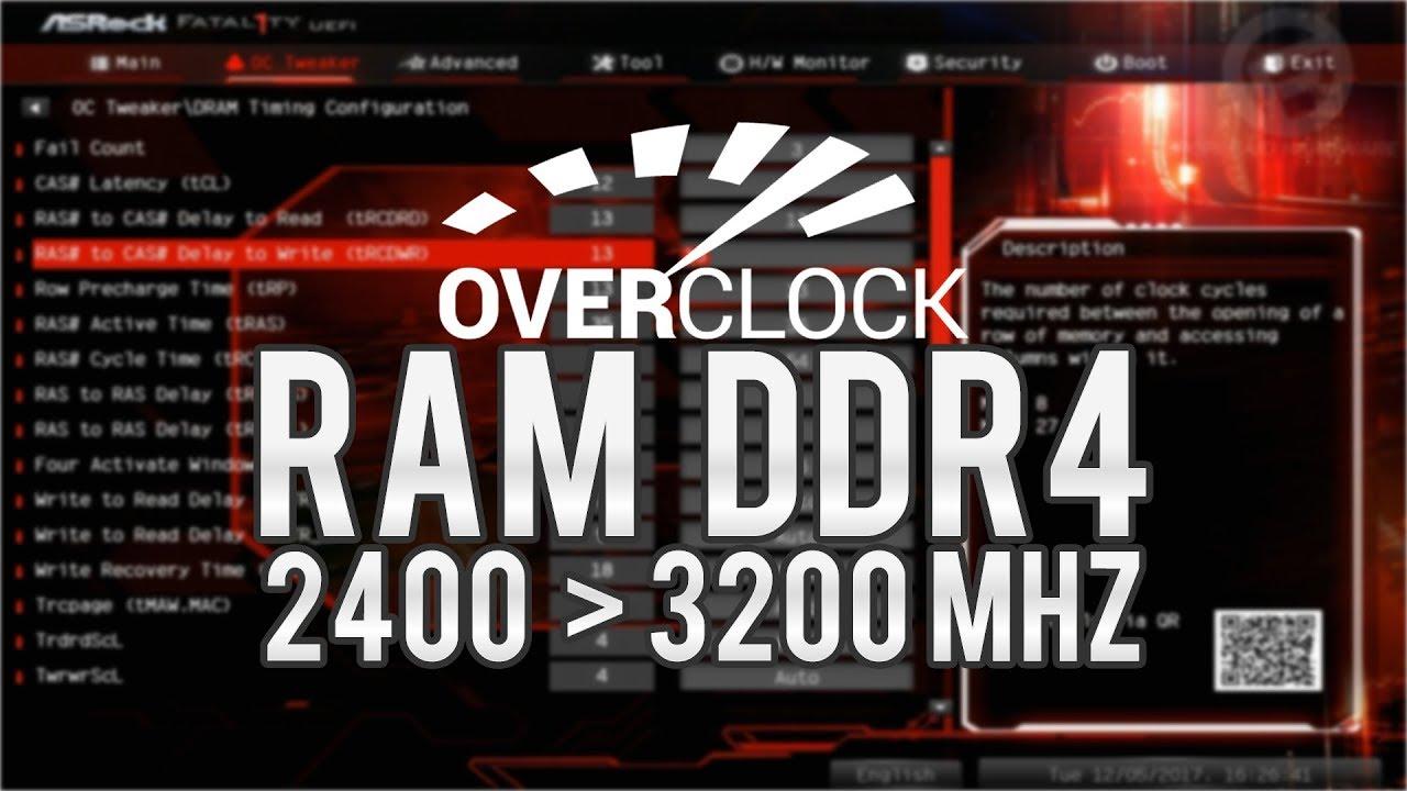 Overclock DDR4 HyperX Predator 2400 para 3200 Mhz - Uma