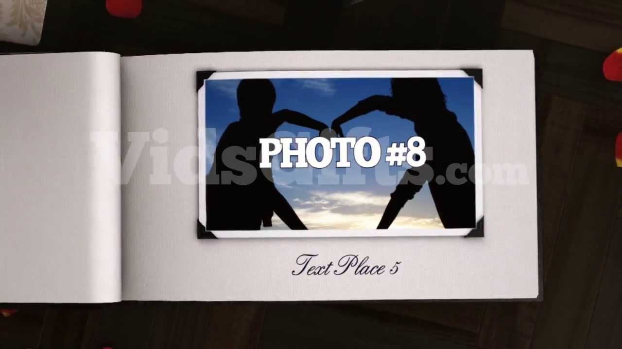 The 3D Photo Album Sample. Personalized Video Gift Ideas - YouTube