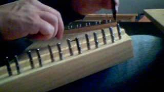 Lap Harp just bought - two-hand play