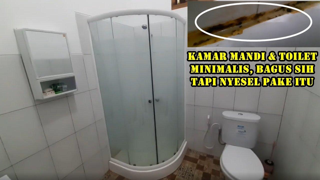 LOW BUDGET - Desain kamar mandi & toilet kecil minimalis ...