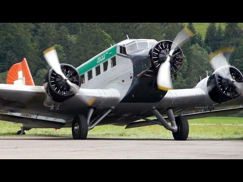 TANTE JU! ♥  Junkers JU 52 Scenic Flight from Gstaad