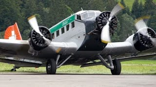 TANTE JU! ¦  Junkers JU 52 Scenic Flight from Gstaad