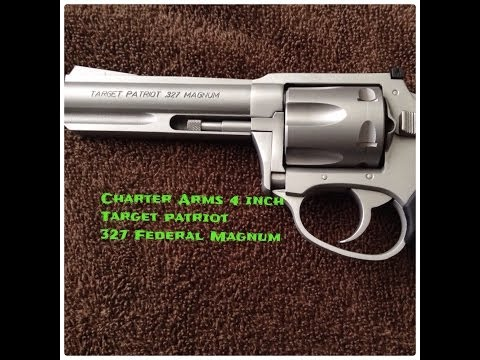 Charter Arm's 4 inch Target Patriot 327 Federal Magnum
