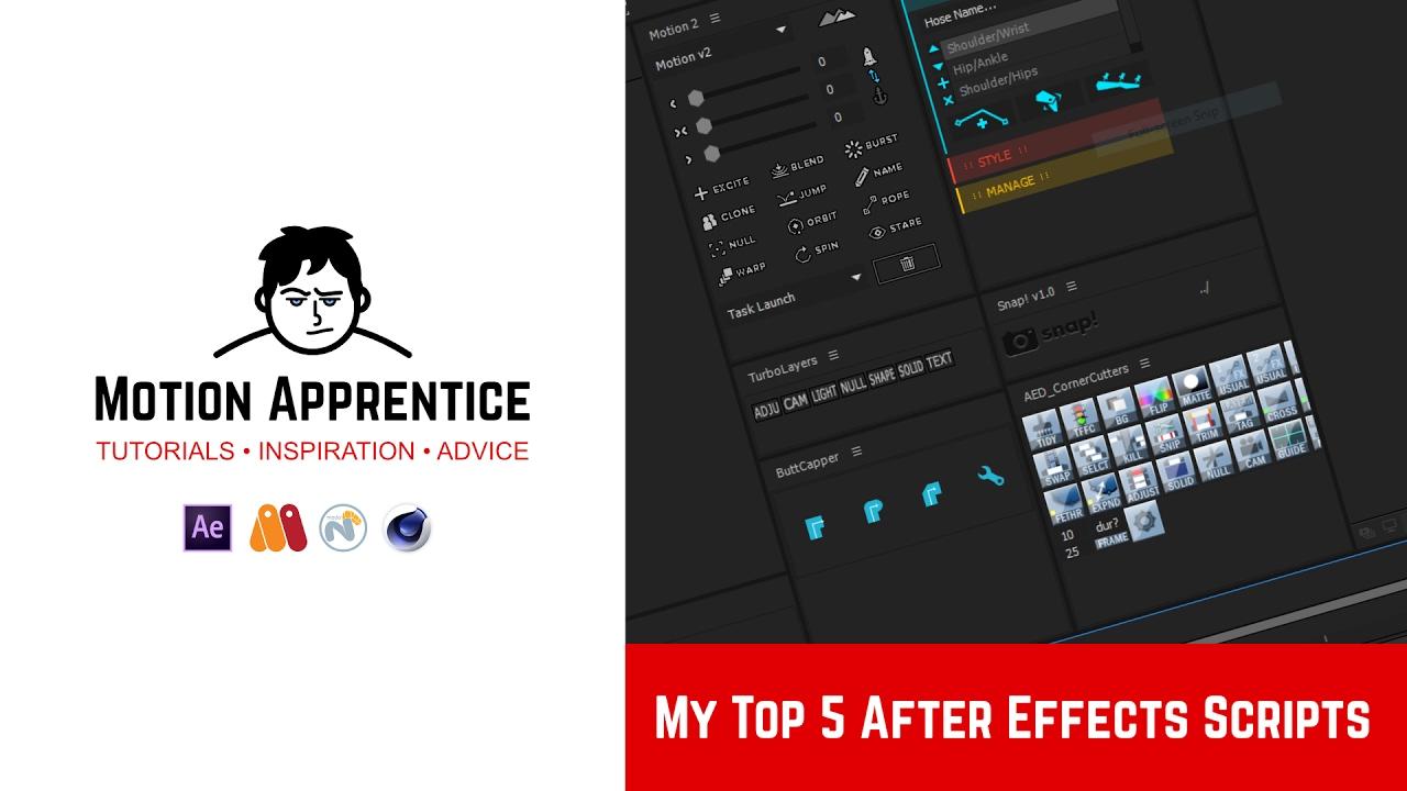 My Top 5 After Effects Scripts - Музыка для Машины