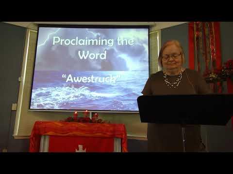 """May 30, 2021 ~ Rev. Julia Price ~ """"Awestruck"""""""