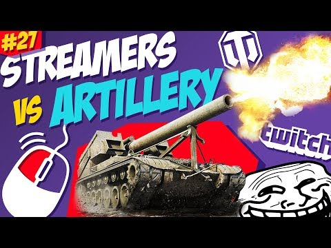 #27 Streamers vs Artillery | World of Tanks thumbnail