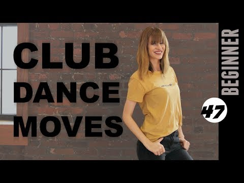 Club Dance Moves Tutorial For Beginners 47: Double Heel Up