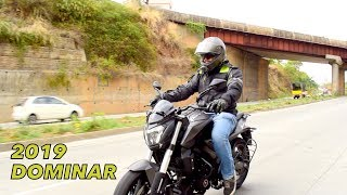 2019 DOMINAR 400 UG First ride Review + SUPER EXHAUST NOTE - Is it better than 2018 Dominar ??