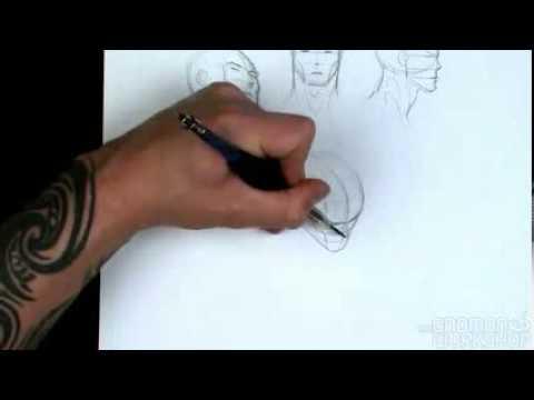 dynamic figure drawing head pt1