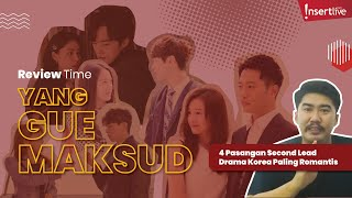REVIEW TIME   PASANGAN SECOND LEAD DRAMA KOREA PALING ROMANTIS!