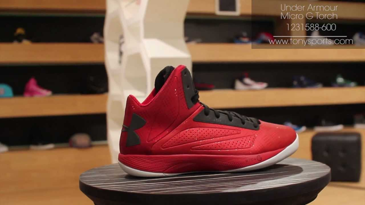premium selection 2774d 71f71 ... discount code for under armour micro g torch red black white 1231588  600 tonysports youtube 773e9