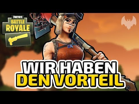 Wir haben den Vorteil - ♠ Fortnite Battle Royale: Sneaky Silencer ♠ - Deutsch German - Dhalucard