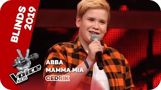ABBA - Mamma Mia (Cedrik) | Blind Auditions | The Voice Kids 2019 | SAT.1