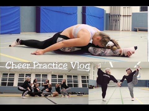 Cheerleading Training, Life Update - Vlog I Larissa