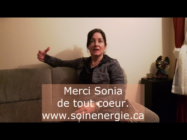 Témoignage de Sonia  -   www.montarot.ca