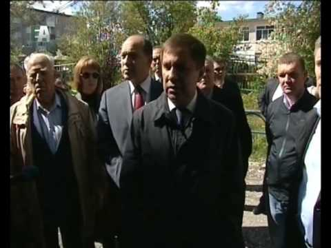 В Первоуральск сегодня приехали представители Правительства Свердловской области