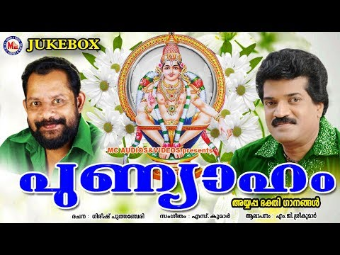 പുണ്യാഹം | Punyaham | Hindu Devotional Songs Malayalam | MG Sreekumar Ayyappa Devotional Songs