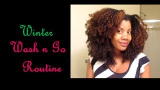 Video [51] Natural Hair: Updated Wash n Go Routine During the Winter 2013 download MP3, 3GP, MP4, WEBM, AVI, FLV Juli 2018