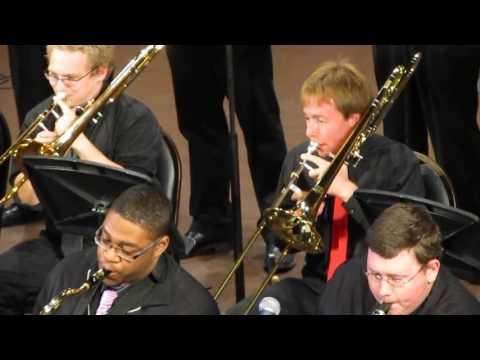 Indiana State University Jazz Ensemble Performance