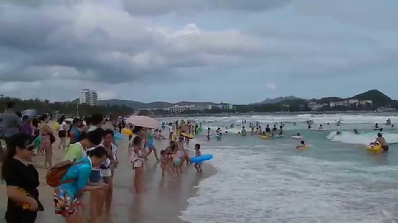 Sanya Beach In China