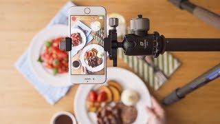 구형 스마트폰(iphone 6s)으로 레시피 영상 촬영…