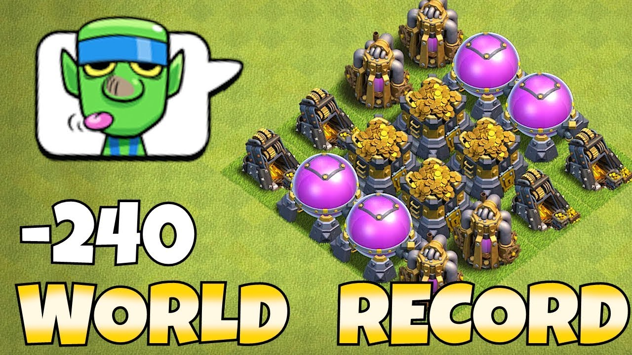 """HIGHEST LOOT POSSIBLE IN THE GAME """"Clash Of Clans"""" MAX LVL 13 STORAGES!"""