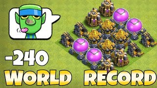 "HIGHEST LOOT POSSIBLE IN THE GAME ""Clash Of Clans"" MAX LVL 13 STORAGES!"