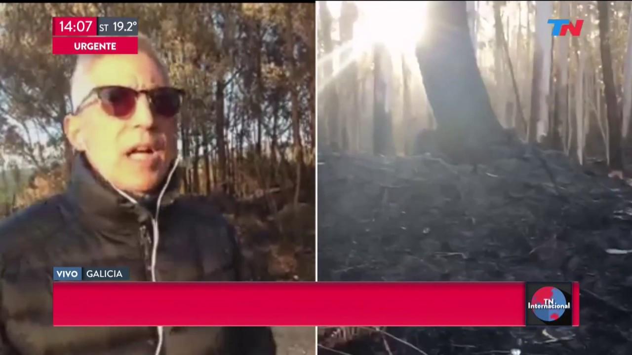Actrices Porno Galicia así quedó galicia tras el incendio