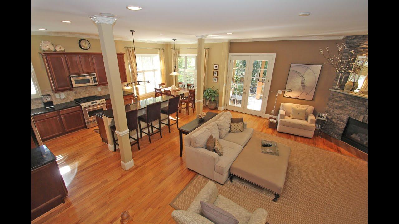 Open Floor Plan Living Room Decorating Homes Of Riverwoods