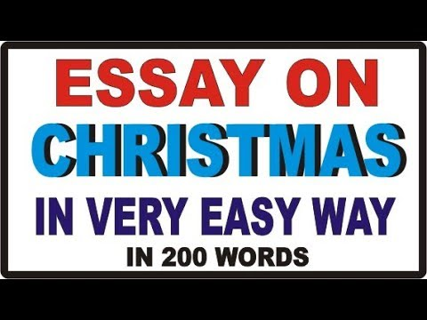 Essay On Christmas For School Kids By Hindi Tube Rohit  Youtube Essay On Christmas For School Kids By Hindi Tube Rohit