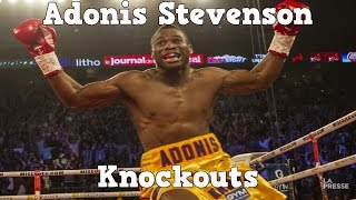Adonis Stevenson - Highlights / Knockouts