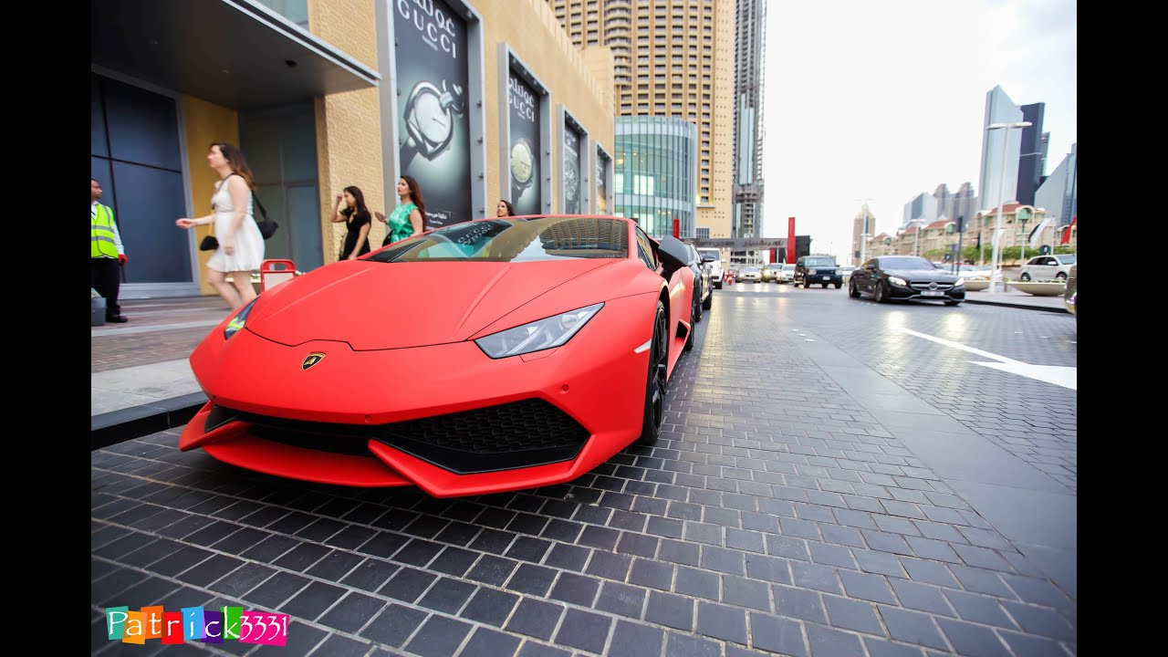 frozen red youtube watch lamborghini huracan used