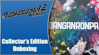 EARLY Danganronpa 1-2 Reload Collector's Edition Unboxing (Playstation 4)