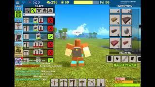 how to make bow and crossbow and ammo .booga booga roblox