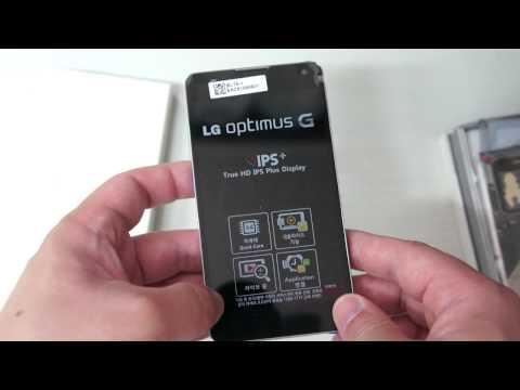 LG Optimus G white Unboxing/ LG 옵티머스 G 화이트 개봉기