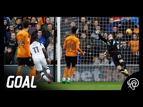 GOAL | Bent's Beauty Vs Wolverhampton Wanderers (A)