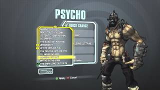 Borderlands 2 - Psycho Dark Psycho Pack (BREATHE DEEP/THE DARK LEAKS OUTTA ME)
