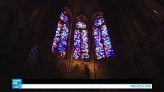 فرنسا..شانبانيا.. عاصمة الزجاج الملون