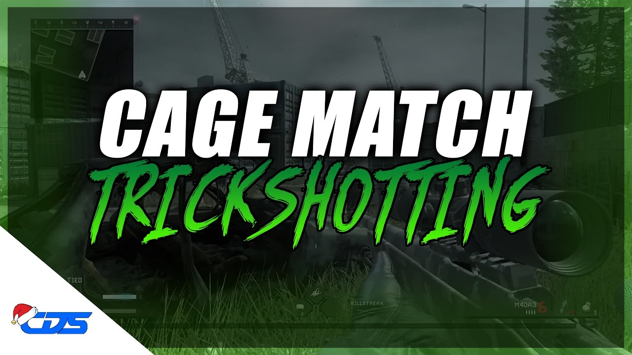 Download CAGE MATCH TRICKSHOTTING!!
