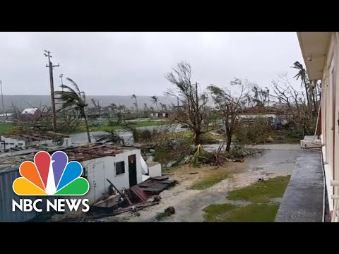 Super Typhoon Hits U.S. Territories In The Pacific With 200 MPH Winds | NBC News