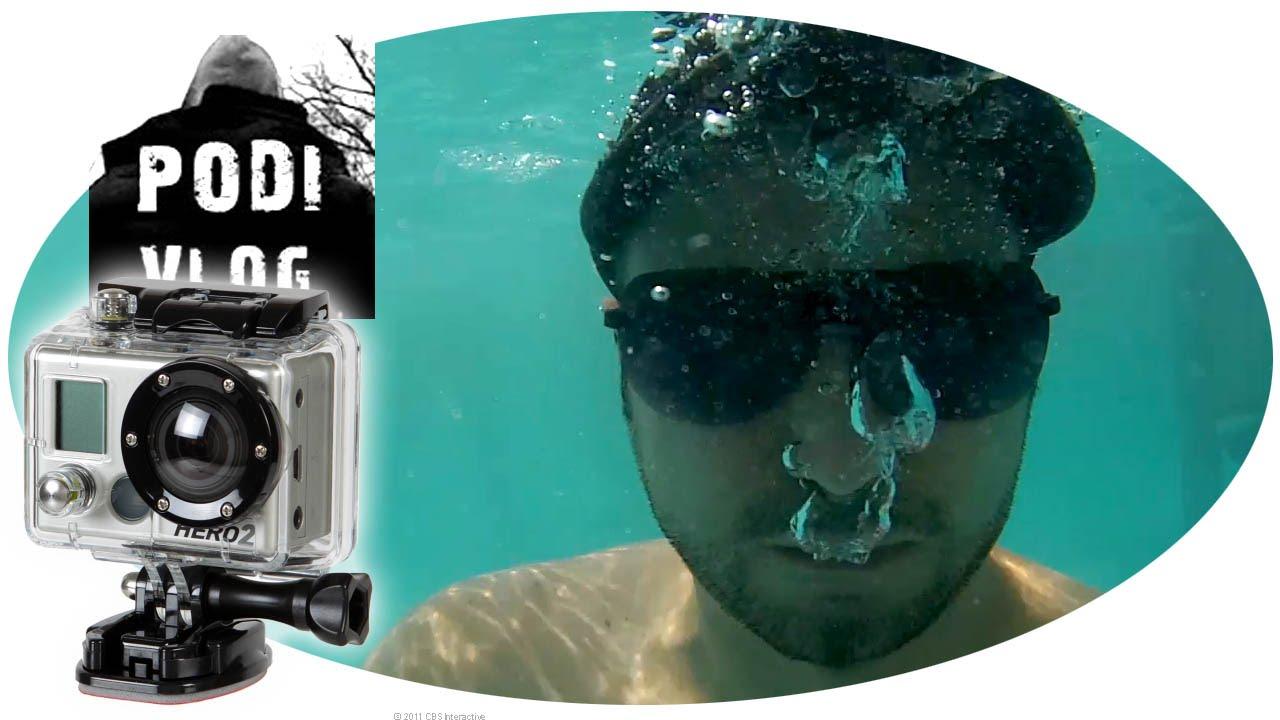 5966268222a8 GoPro HERO 3 Víz teszt | vízálló tok | víz alatt - YouTube