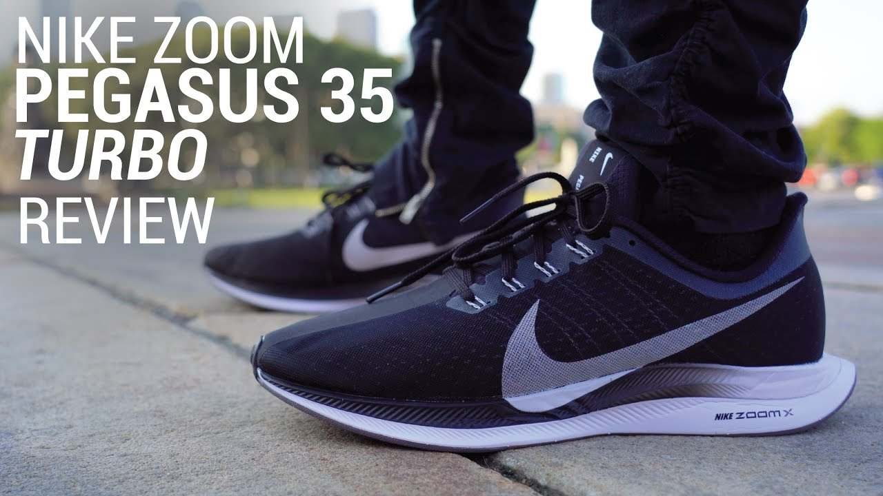 NIKE ZOOM PEGASUS 35 TURBO REVIEW - YouTube