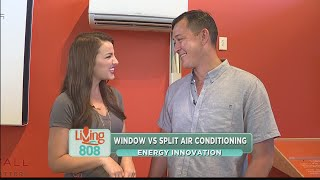Energy Innovation: Window vs. Split Air Conditioners